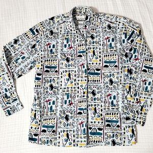Vintage Levi's Travelers 90's Print Shirt